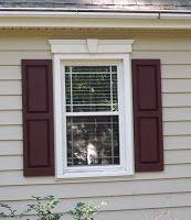 Biddle Bits: How to paint vinyl shutters