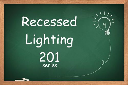 Recessed lighting placement formulas. Here are the formulas for calculating the placement of your lights, as well as a free calculator that does it for you!