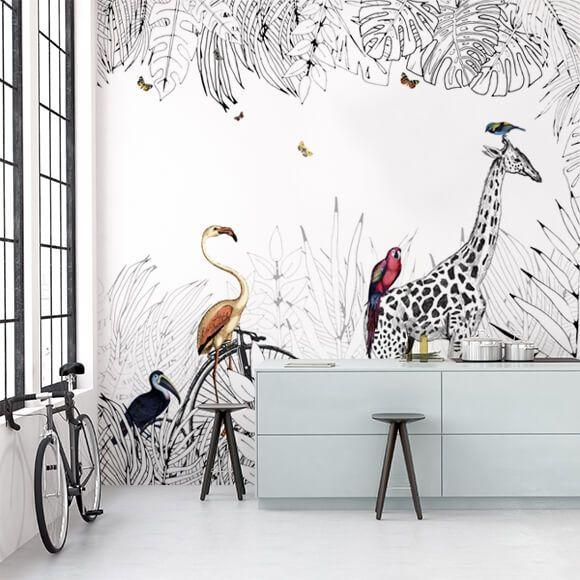 Best 25 wallpaper designs ideas on pinterest house wallpaper designs room wallpaper designs for Au fil des couleur
