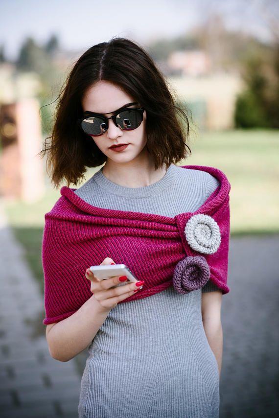Pink Alpaca Scarves   Women's Orginal Scarves   Scarves &