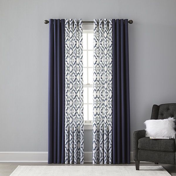 Jcpenney Home Store Locator: JCPenney Home Truman Grommet-Top Curtain Panel