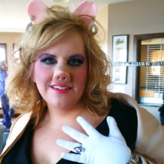 My Miss Piggy costume. I totally need to do this!