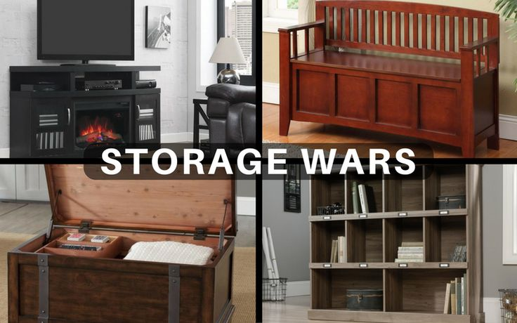 A little organization now will go a long way over the next 365 days!   #StorageWars #Home #Decor #Organize #Storage #Furniture