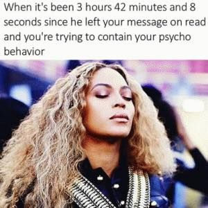 Psycho Girlfriend | Beyonce | Queen Bey | Humour | Relationships | Relationship Quotes