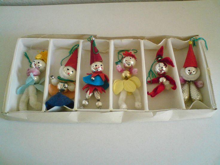 Alter Christbaumschmuck Weihnachtsschmuck Baumschmuck original 50er/60er Jahre