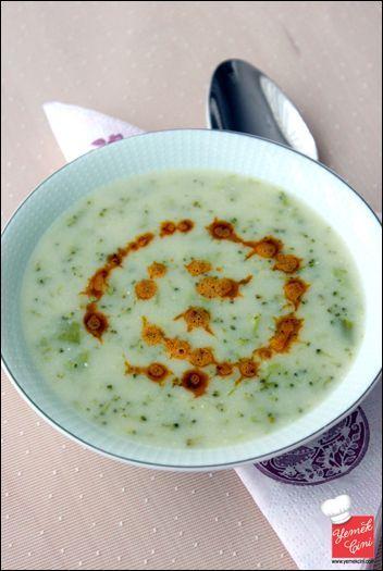 Terbiyeli Brokoli Çorbası. Yurda.