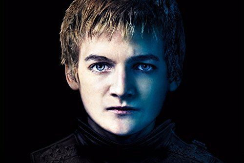"Framed Game of Thrones - King Joffrey Baratheon Portrait Stretched Canvas Art Print 24""x36""x1.5"""