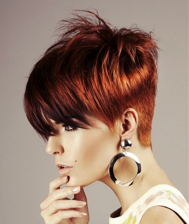 Креативные стрижки на короткие волосы женские фото