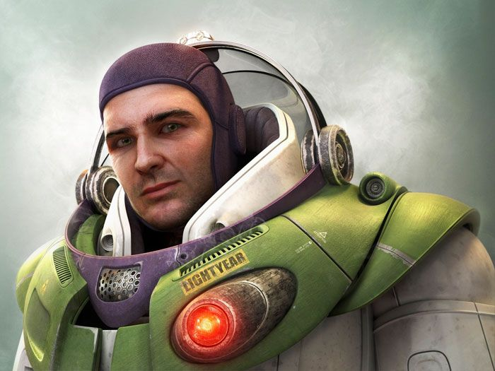 Buzz Lightyear From The Toy Story