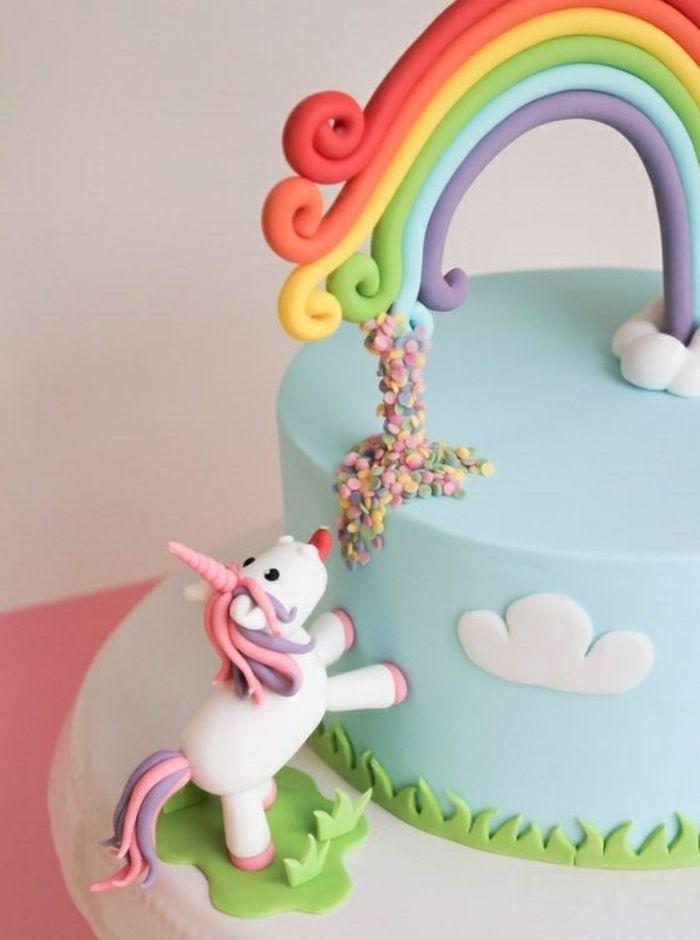 gouter d anniversaire gâteaux anniversaire licorne