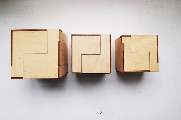 wood cubes - prototype/sketching- lasercut