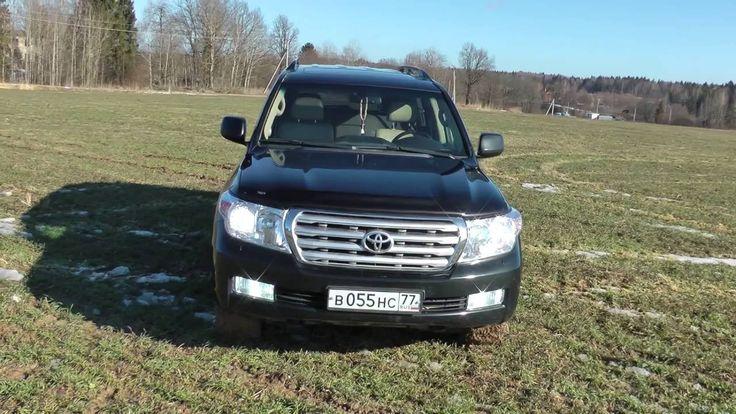 Toyota Land Cruiser 200 Diesel тест обзор