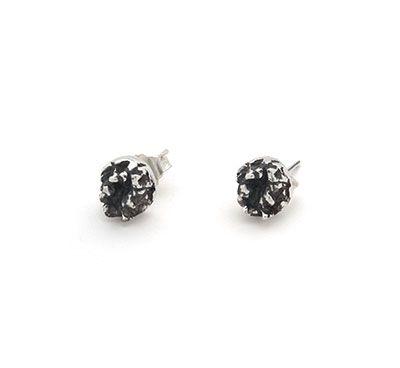 Ruin | Captve Jewellery | sterling silver | oxidized | handmade | earrings | studs