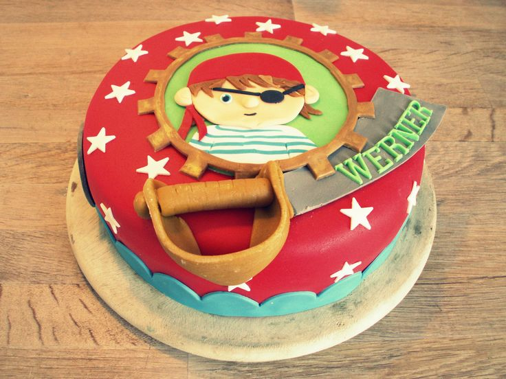 Sweet pirate cake by Studio Roos
