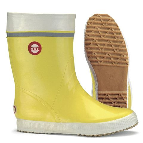 Nokian Hai rubber boots in yellow #wishlist