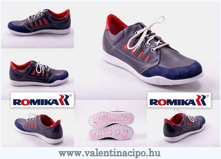 A Romika lábbelik egyszerűen nagyszerűek! Csak a legjobb textilt és a legfinomabb bőröket használják a Romika cipők és Romika szandálok gyártása során. Romika lábbelik talpa poliuretán (purisoft) anyagból készül. A Romika cég minden egyes talpba egy anatómiailag megtervezett talpbetétet épít be, amely tartalmaz egy íves sarokmélyedést, amelyet a láb oldalirányú megtámasztását segíti elő. www.valentinacipo.hu