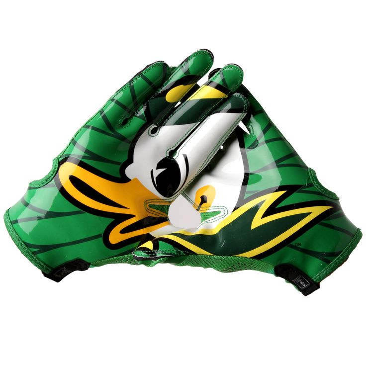 College Men's Nike Oregon Ducks Vapor Knit Gloves