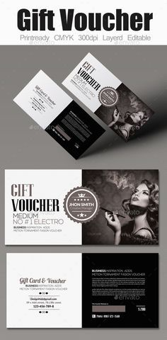 Multi Use Business Gift Voucher Template #design Download: http://graphicriver.net/item/multi-use-business-gift-voucher/12210467?ref=ksioks