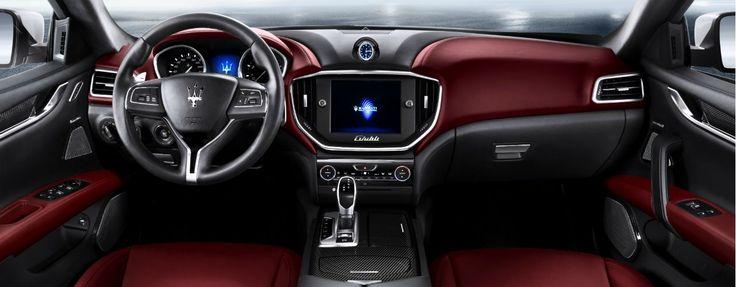 Interior #Maserati Ghibli