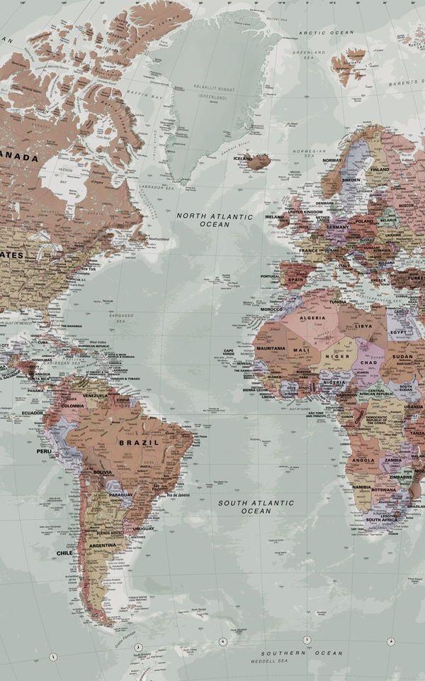 Weltkarte wallpaper
