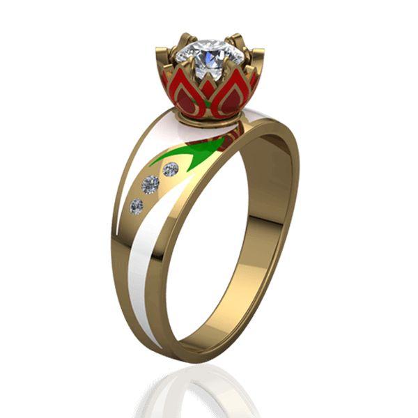 Кольцо elle so many rings