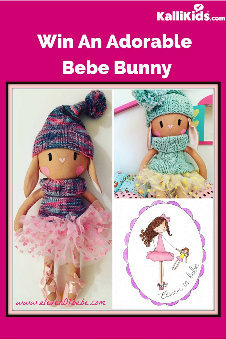Get the chance to win an adorable Bebe Bunny for your kids.