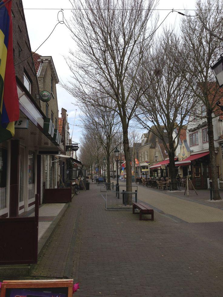 Dorpsstraat Terschelling Midsland