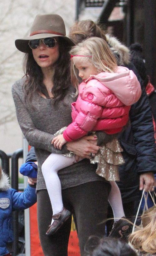bethenny frankel's daughter in her @Appaman puffy coat