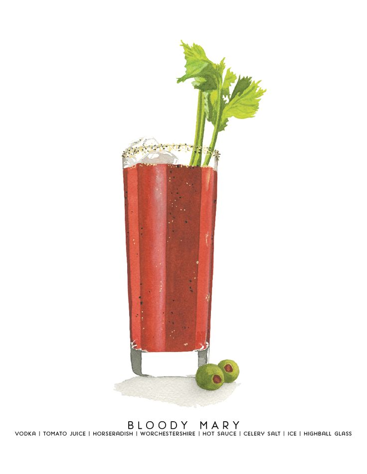bloody mary drink clipart - photo #8