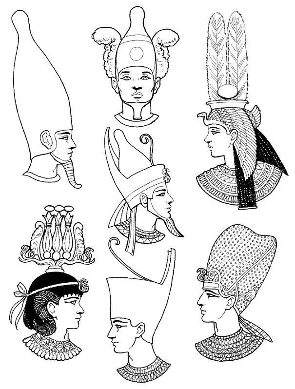 веб-страницу картинки корона царей древнего египта полу