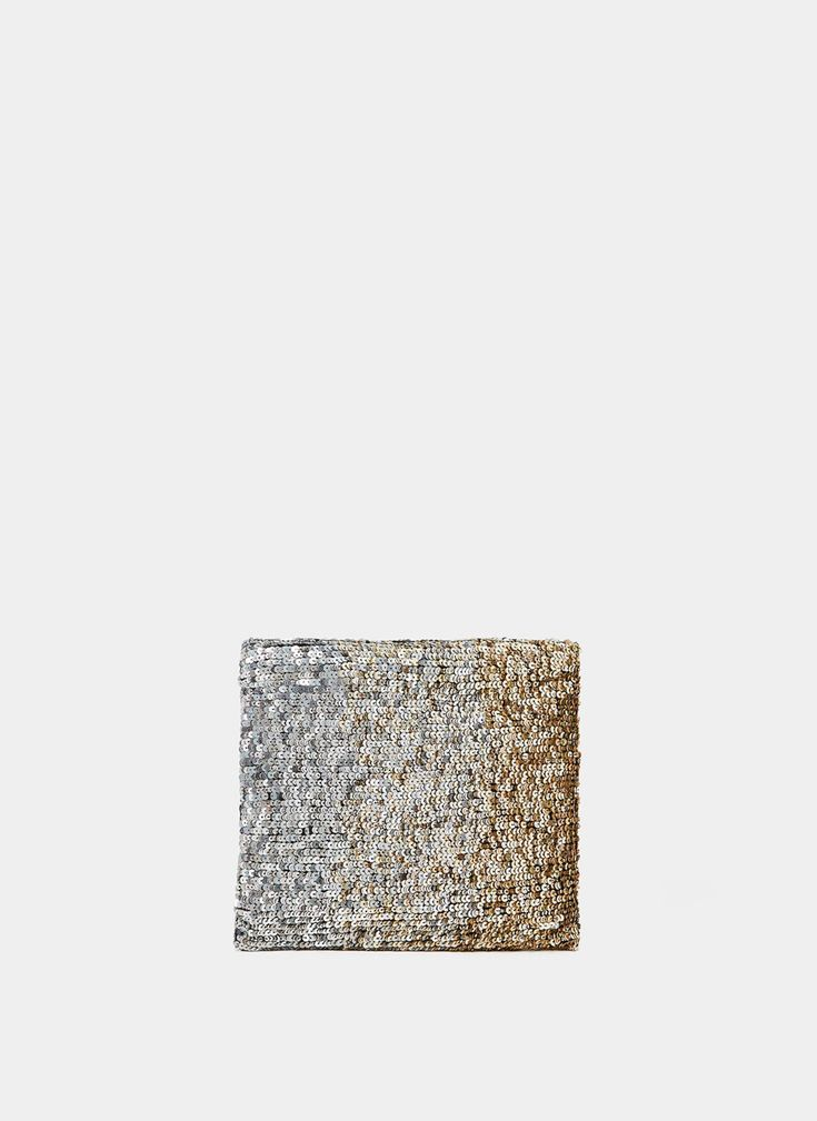 Uterqüe United Kingdom Product Page - Bags - View all - Sequinned clutch - 69