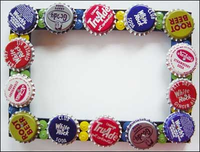 how to make a tambourine with bottle caps