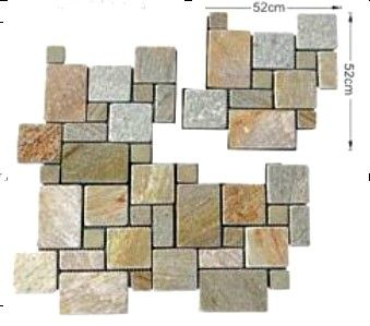 I have this crazy idea about adding a crazy paved porch and feature wall to our front entry. Crazy Pave Product 17
