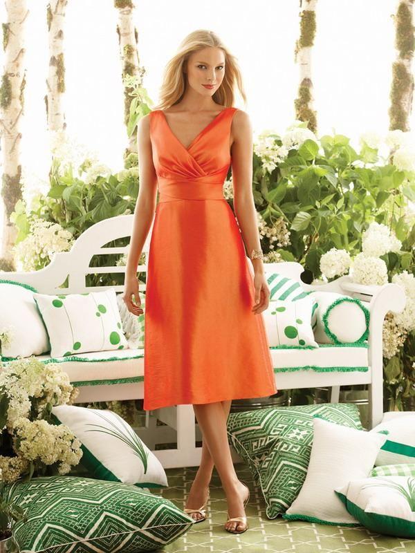 1000  ideas about Orange Bridesmaid Dresses on Pinterest  Burnt ...