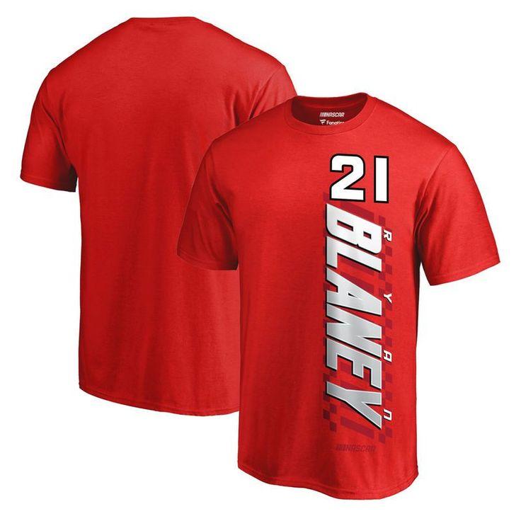 Ryan Blaney Fanatics Branded Big & Tall Alternator T-Shirt - Red https://www.fanprint.com/stores/american-dad?ref=5750