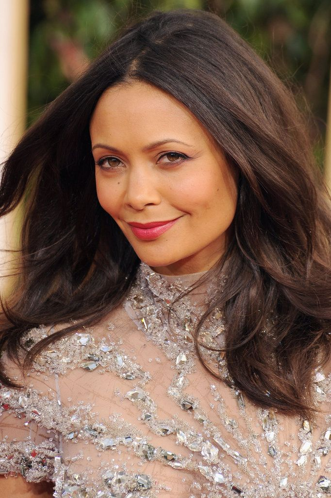 I love her lips. Thandie Newton, Golden Globes 2013