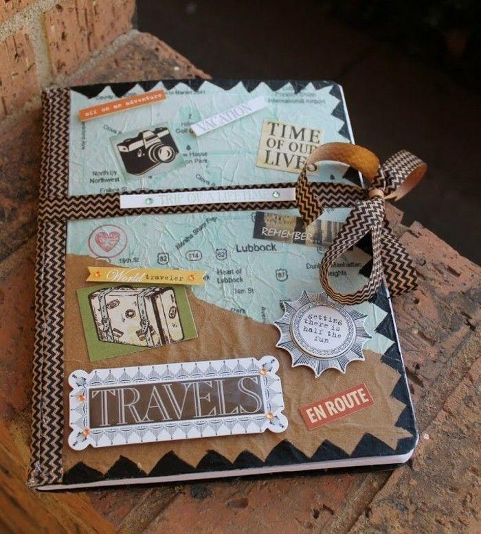 carnet de voyage à offrir à son meilleur ami, cadeau a faire soi meme