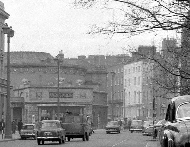 The Ambassador Cinema, O'Connell Street, April 1962