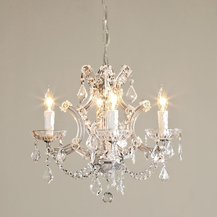 Round Crystal Chandelier
