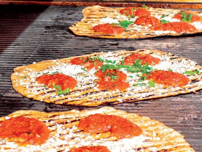 Rosanna Scotto shares her family recipe for the ultimate grilled pizza margherita.