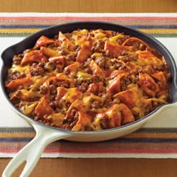 Beef Taco Skillet Recipe -- Made this with Rotel instead of Tomato ...