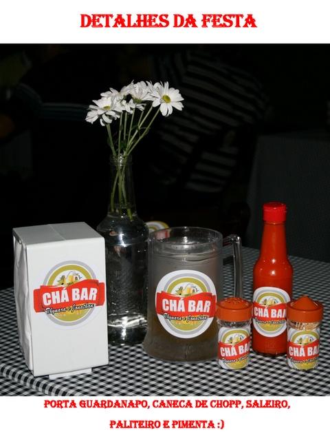 Chic Titi: Chá Bar - Boteco