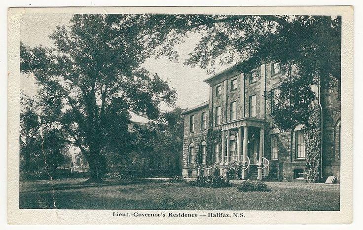 Lieut Governor'S Residence Halifax Nova Scotia Postcard 1922   eBay