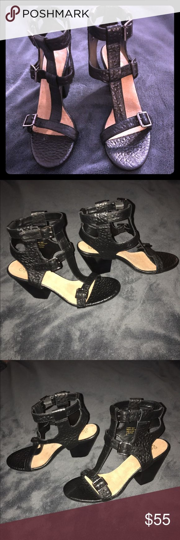 Sexy Seychelles black Leather Heels size 9 New Sexy Seychelles black Leather Heels size 9 -New without Tags or box! These are Hot!!! 😍😍 Seychelles Shoes Heels