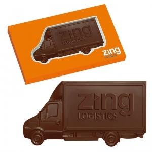 Van - czekoladowy samochód / chocolate car