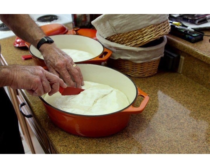 Dutch Oven Baking - Atta Durum Flour and K.A. Bread Flour   The Fresh Loaf