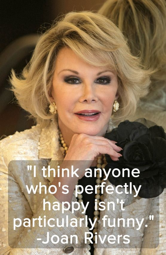 10 Joan Rivers Quotes That Transcend Her Snark