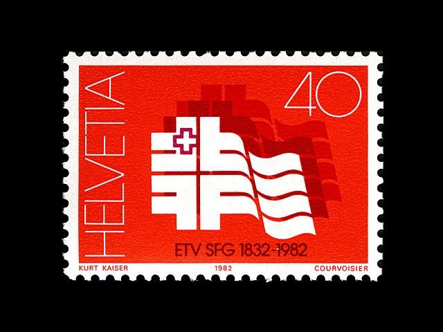 Helvetia 1982 #stamps