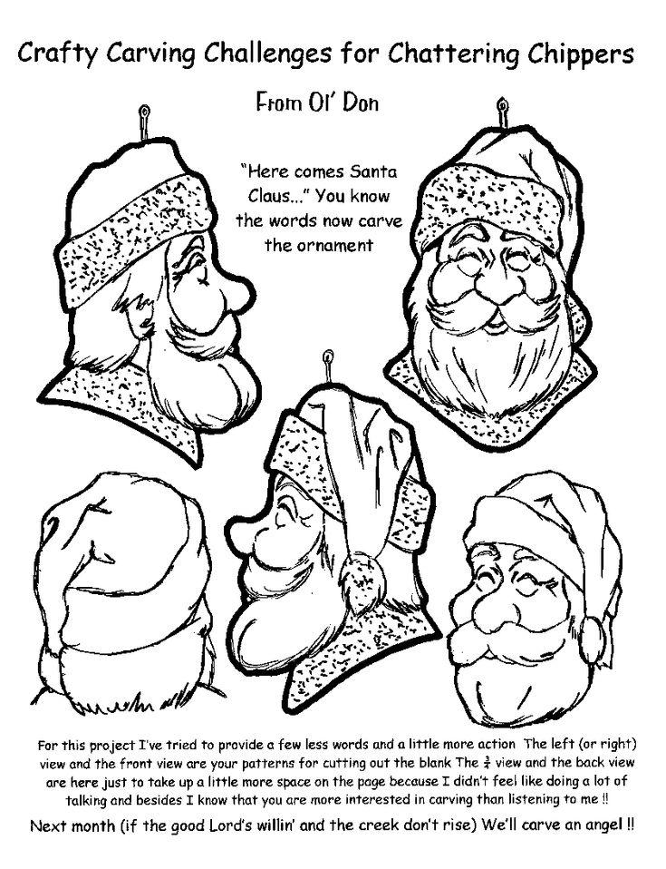 Bästa bilder om chainsaw carving patterns instructions