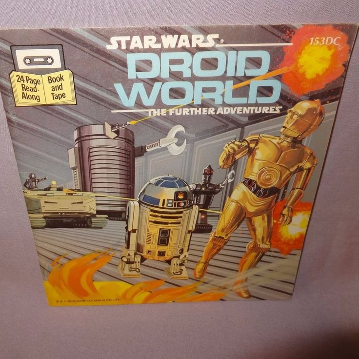 Star Wars Droid World The Further Adventures Children Paperback Book 1983
